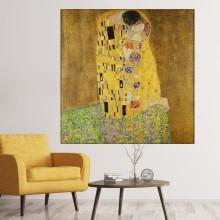 Tablou Canvas Gustav Klimt, Sarutul TPGK29