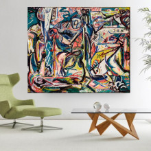 Tablou Canvas Jackson Pollock Circumcision ARJP2