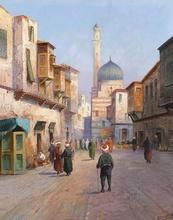 Tablou canvas Oriental - Scena de strada