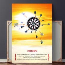 Tablou Motivational TARGET OPO737