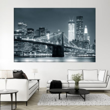Tablou New York - Vedere Pod Brooklyn TUSA21
