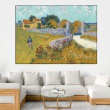 Tablou Van Gogh - Ferma in Provence VG61