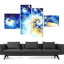 Multicanvas abstract flori digitale tfad61