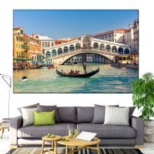 Tablou Canvas Podul Rialto Venetia IVE33