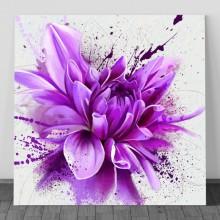Tablou Bujor Artistic in Nuante Violet FFAR14