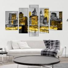 Multicanvas Lumini in Manhattan, New York TUSA1