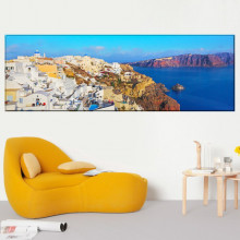 Tablou Canvas Vedere Panoramica Coasta Grecia PMO69P