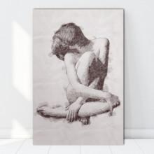 Tablou Canvas Nud Femeie, Artistic ARTN5