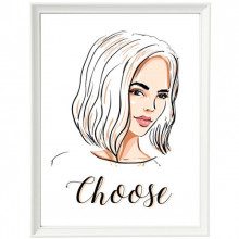 Poster + Rama Schita Beauty Hair Style ILF12A