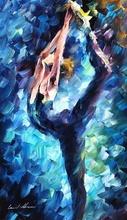 Reproducere Leonid Afremov - Calea albastra