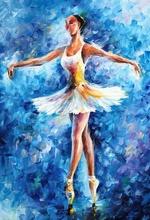 Reproducere Leonid Afremov - Noua balerina