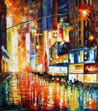 Reproducere Leonid Afremov - Time Square