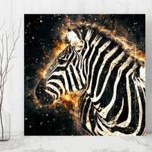 Tablou Artistic Zebra anz26