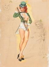 Tablou canvas 25 Femeia cu norocul