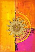Tablou canvas abstract happy color 06