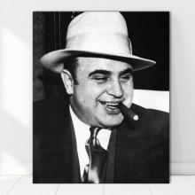 Tablou Canvas Al Capone VR36