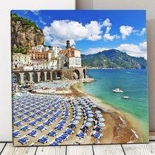 Tablou Canvas Coasta Amalfi Italia