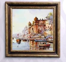 Tablou canvas cu rama maro B006M 1