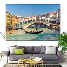 Tablou Canvas Podul Rialto Venetia IVE33
