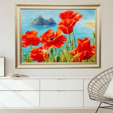 Tablou Canvas+Rama Maci Pe Coasta FAS124