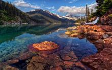 Tablou colectia lac & munte 11