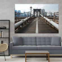 Tablou Detaliu Drum Pod Brooklyn NYM14