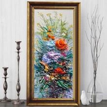 Tablou Floral FAS127, Canvas+Rama