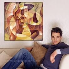 Tablou Forme Feminine in Cubism trc17