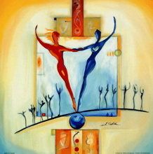 Tablou G.A. - Echilibrul perfect