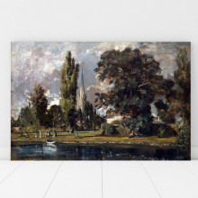 Tablou John Constable Salisbury Cathedral and Leadenhall from the River Avon