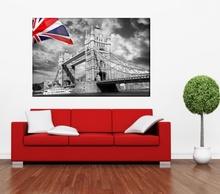 Tablou Londra cu Steag