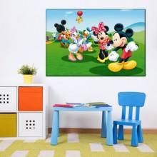 Tablou Mickey Mouse Si Prietenii DEB85
