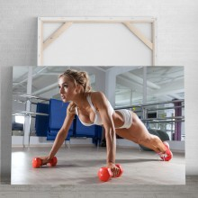 Tablou Model Fitness Feminin PFGT8