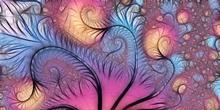 Tablou canvas fractal 04