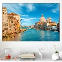 Tablou Canvas Canal Grande in Venetia IVE4