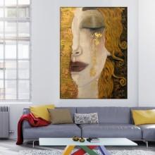 Tablou Canvas Gustav Klimt, Lacrimi Aurii GKS19