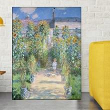Tablou Claude Monet Gradina Artistului La Vetheuil