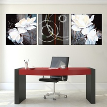 Multicanvas Floral Modern Art