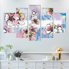 Multicanvas Modern Floral FFAR18