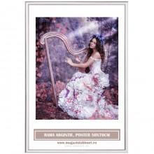 Rama Argintie, Poster 50x70cm