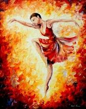 Reproducere Leonid Afremov - Dans in flacari