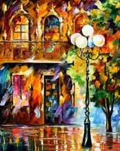 Reproducere Leonid Afremov - Lumina iubirii