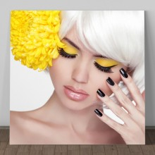 Tablou Black and Yellow Make-Up GFA2