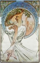 Tablou canvas Alphonse Mucha 019