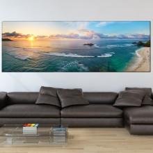 Tablou Canvas Apus Printre Valurile Marii PMO122