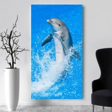 Tablou Canvas Delfin Jucaus aqf46