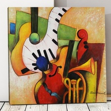 Tablou Canvas Muzical Abstract TRD3