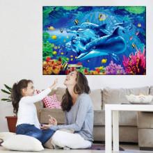 Tablou Canvas Prietenii Delfini AQF54