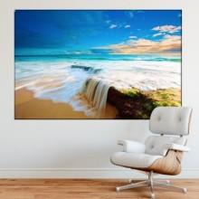 Tablou Canvas Valurile Marii Albastre TPNA84