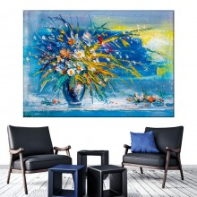 Tablou Canvas Vaza cu Flori BGF43